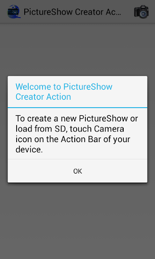PictureShow Creator Action