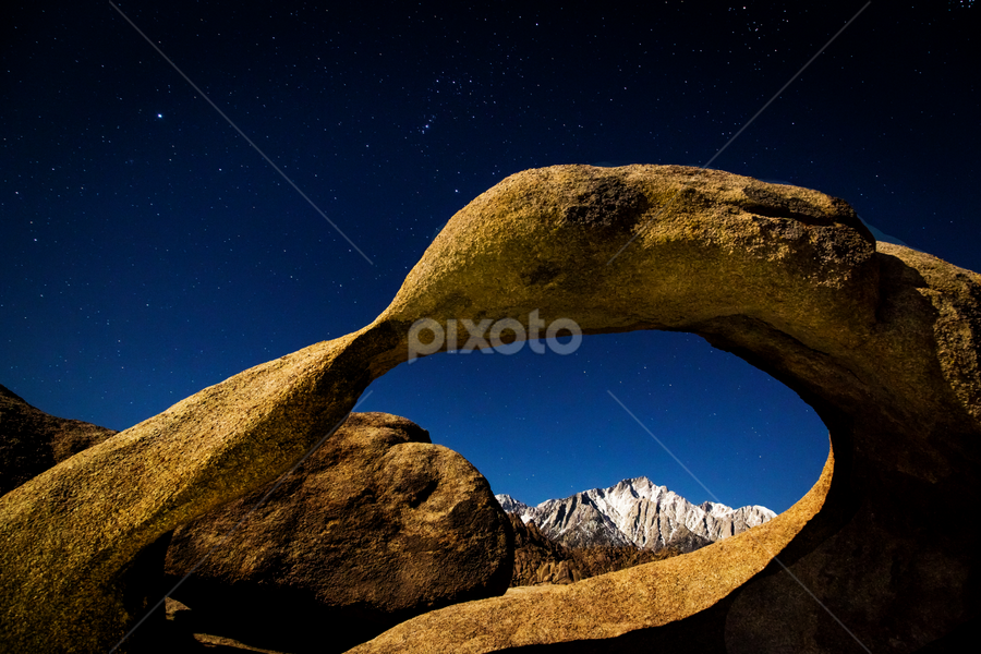 Moonlight on Moibus by Ken Wade - Landscapes Caves & Formations ( , Earth, Light, Landscapes, Views )