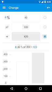 Percentage Calculator v1.0.7