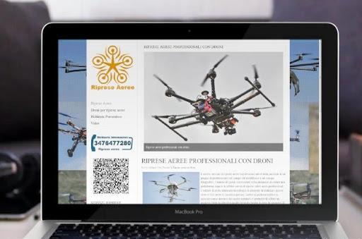 riprese aeree droni