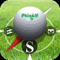 A PhiGolf NAVI logo