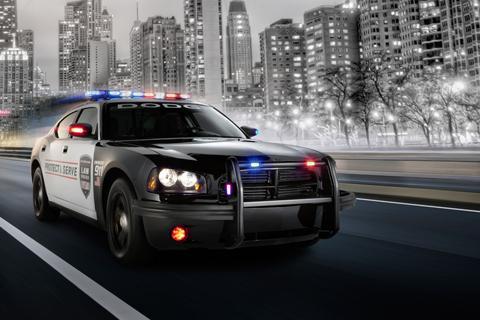 Police Speed Car