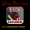 Dog Bucks – 50K + 6 Adrln logo