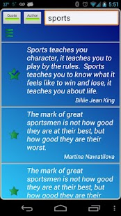 Sports Quotes- screenshot thumbnail