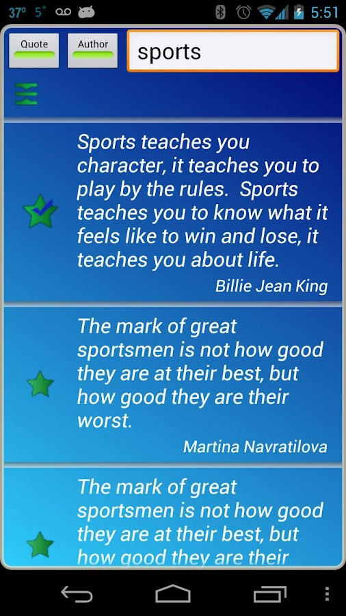 Sports Life Quotes Fascinating Sports Quotes  Android Apps On Google Play