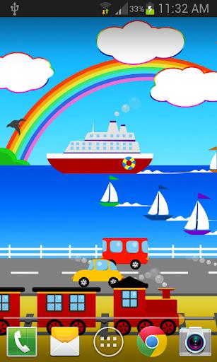 卡通海滨城市动态壁纸免费 FREE PRO