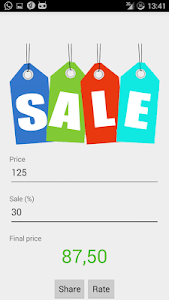 Sale price calculator free screenshot 2