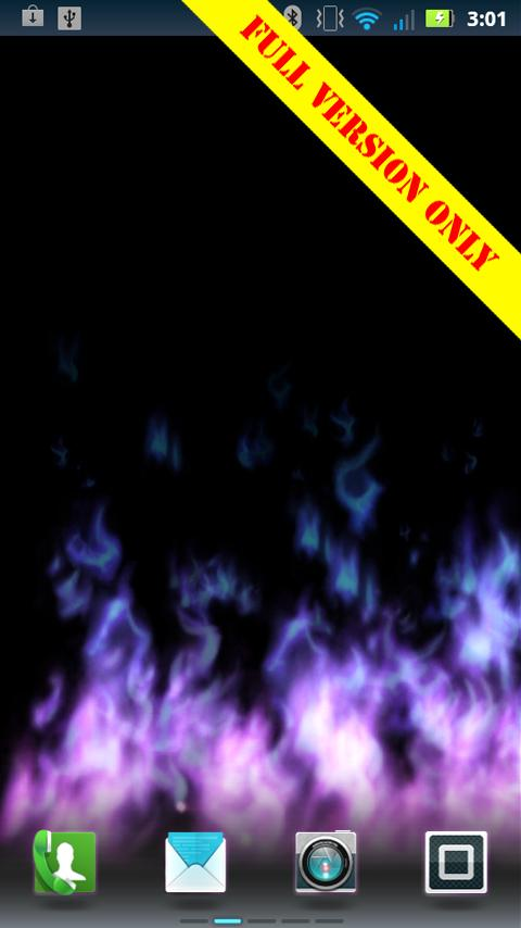 Flames Live Wallpaper (free)- screenshot