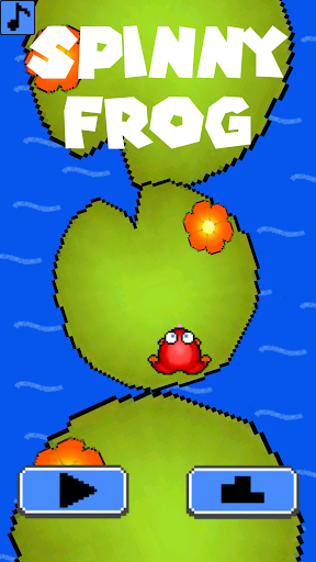 Spinny Frog