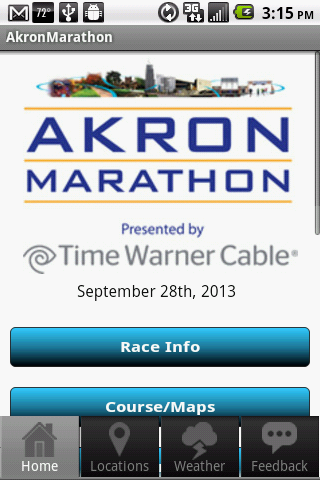 Akron Marathon - screenshot