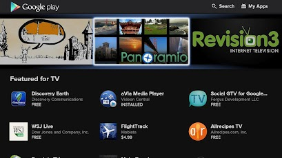 Google Play for Google TV