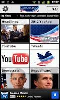 Screenshot of all Politics: 2016 Election HQ