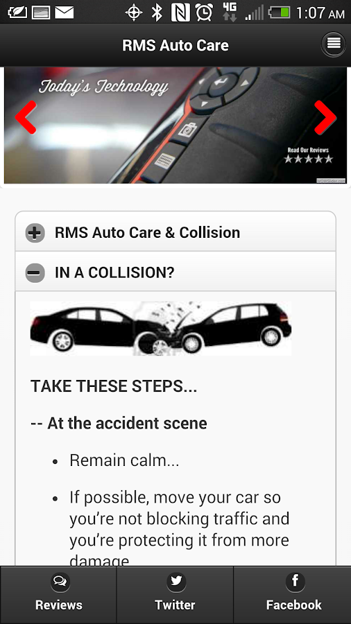RMS Auto Care Houston- screenshot