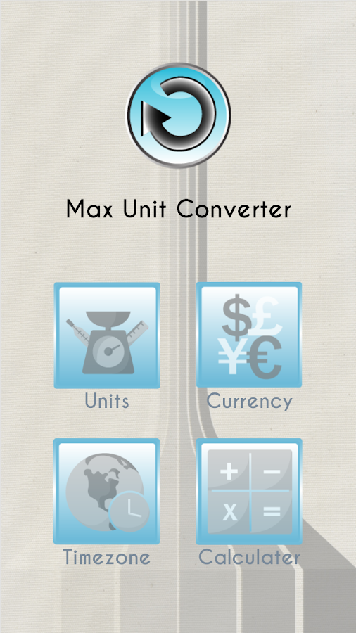 Max Unit Converter - screenshot