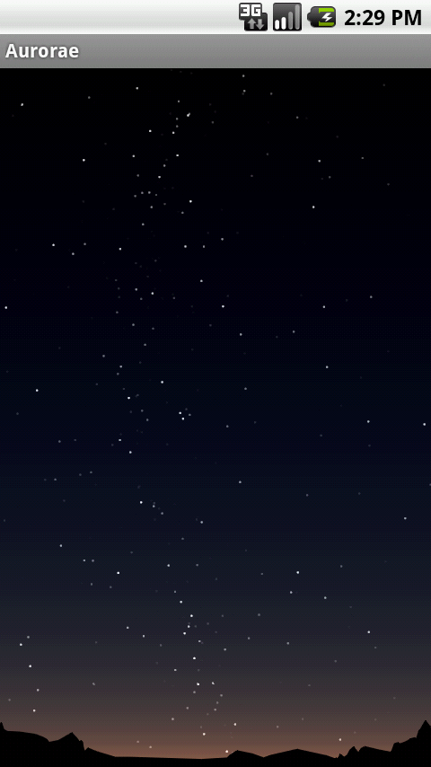 Dialpad: NightSky - screenshot