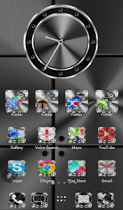 TSF Shell HD Theme Metalcraft v3.0