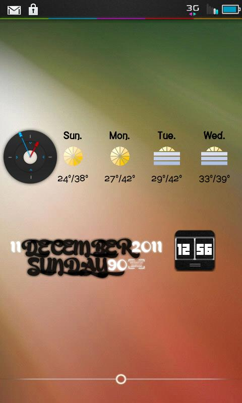 LunarUi Trans - CM7 Theme - screenshot