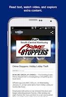 Screenshot of WBKO News