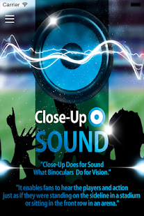 Close Up Sound- screenshot thumbnail