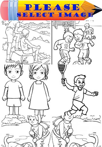 Kids Coloring App