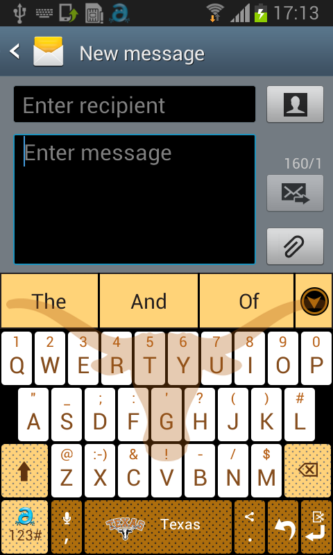 Texas Keyboard - screenshot