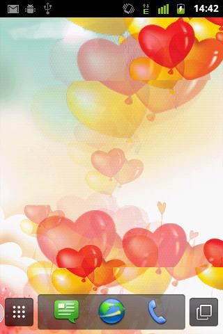 Heart Ballons Live Wallpaper