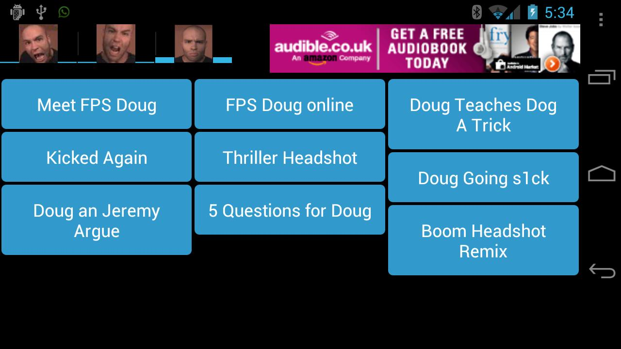 FPS Doug SoundBoard- screenshot
