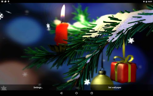 Christmas in HD Gyro 3D XL - screenshot thumbnail