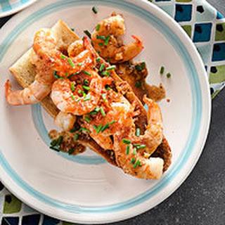 Shrimp Po'boy Toasts