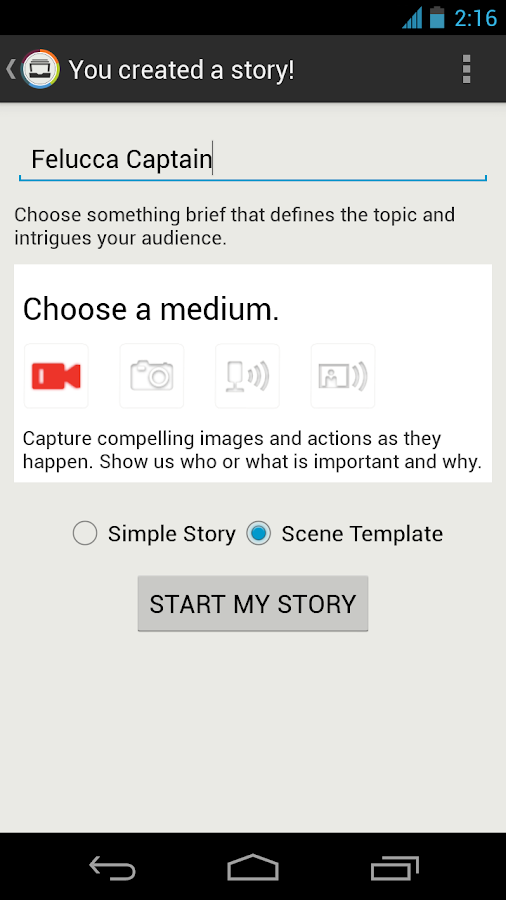 StoryMaker 1 - screenshot