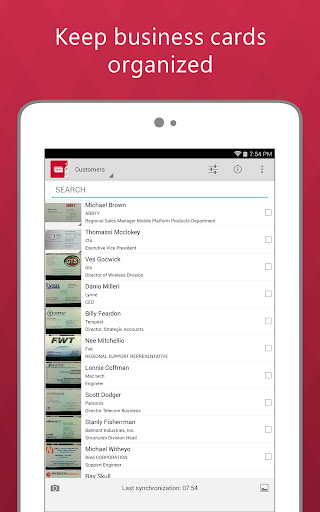 Download ABBYY Business Card Reader Android Apps APK