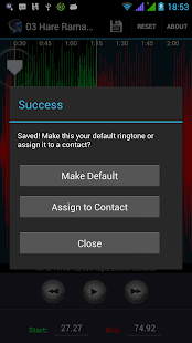 Ringtone Cutter & Maker - screenshot thumbnail