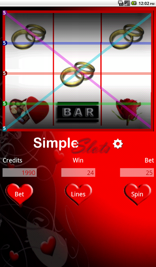 Simple Slots- screenshot