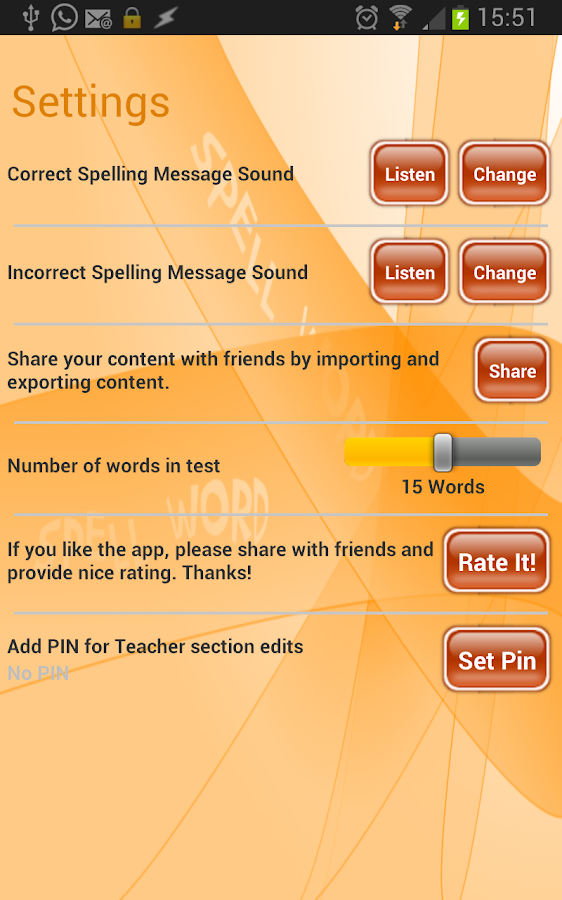 Spell Word - screenshot