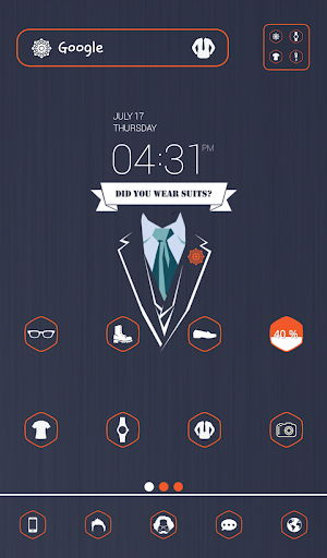 dandy suit dodol theme