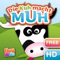 Die Kuh macht Muh für Kinder icon