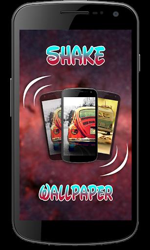 Shake To Change Wallpaper