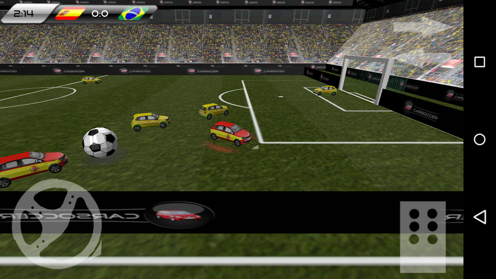 The Car Soccer Game