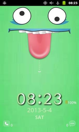 Long Tongue Screen Lock