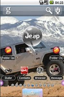 Screenshot of Off-Road Theme