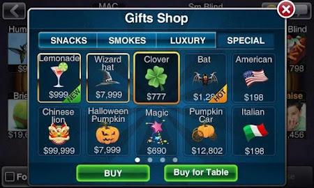Texas HoldEm Poker Deluxe Pro 1.6.4 screenshot 7527