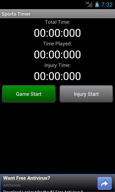 Sport Timer- screenshot