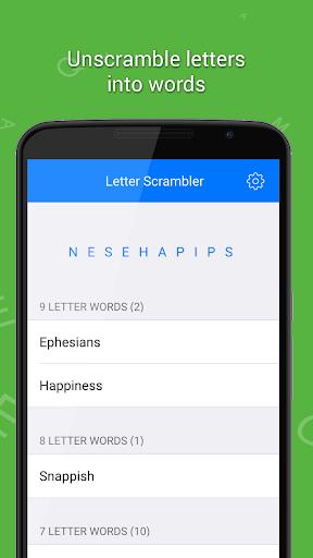 Letter Scrambler