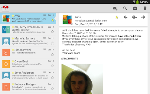 AVG Vault– Hide, Store & Sync - screenshot thumbnail
