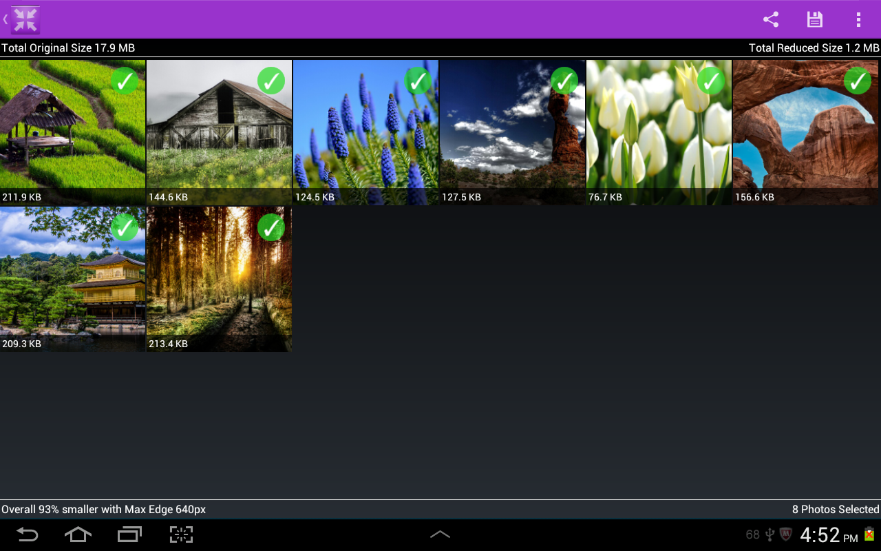 Resize MyPix- screenshot