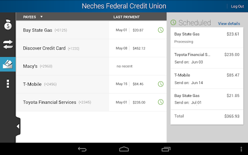 Neches FCU - screenshot thumbnail