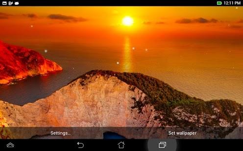 玩個人化App|夕陽動態壁紙免費|APP試玩