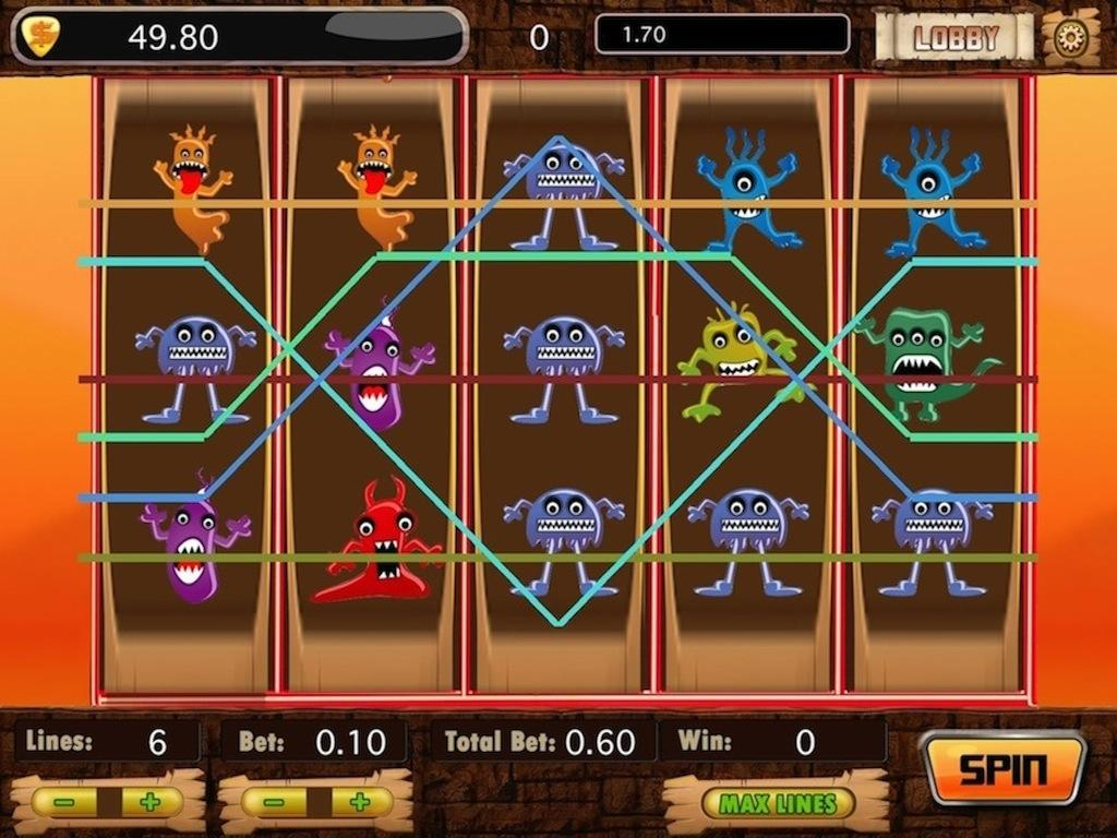 Angry Monster Slot - Free - screenshot