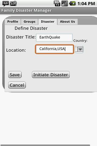 Family Disaster Manager-Free- screenshot