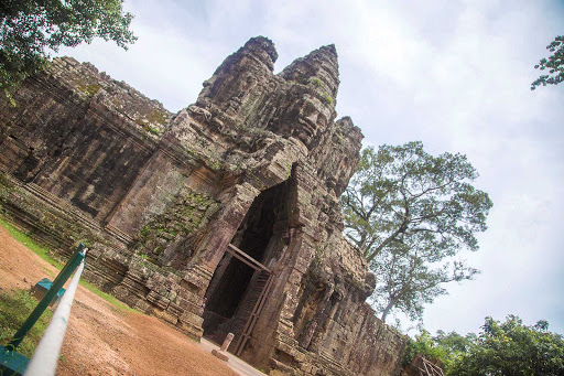 Visit Bayon Temple, the famed Khmer temple at Angkor in Cambodia built around 1200 A.D., during a G Adventures expedition of Cambodia.